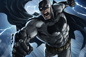 Batman Comics Art Wallpaper