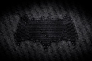 Batman Dark Leather Logo