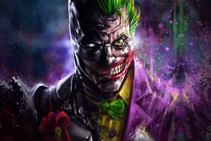Batman Joker Art Wallpaper