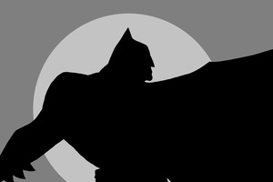 Batman Minimalism 5k Wallpaper