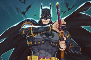 Batman Ninja Wallpaper