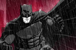 Batman Red Background Art · Batman Red Background Art Wallpaper