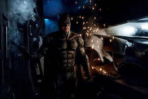 Batman Tactical Suit Justice League Wallpaper