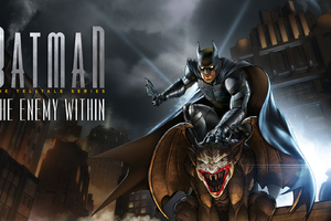 Batman The Telltale Series The Enemy Within Wallpaper