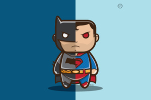 Batman V Superman Artwork 4k