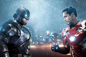 Batman Vs Iron Man 5k