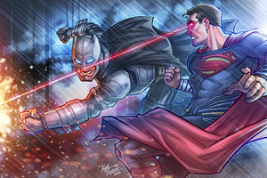 Batman Vs Superman Clash