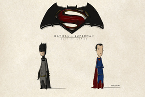 Batman Vs Superman Fan Art