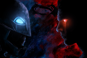 Batman Vs Superman Paint Artwork 5k Wallpaper