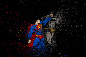 Batman Vs Superman Ruggon Style Wallpaper