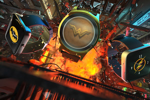 Batman Wonder Woman Flash Smartwatch Hero Wallpaper