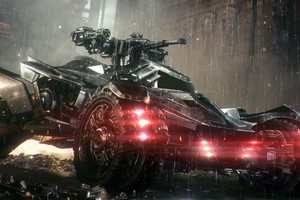 Batmobile In Arkham Knight Wallpaper