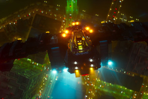 Batmobile In The Lego Batman