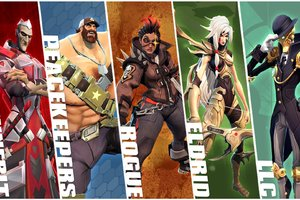 Battleborn Game Collage