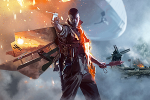 Battlefield 1 Illustration Wallpaper