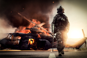 Battlefield 4 Solider 4k Wallpaper