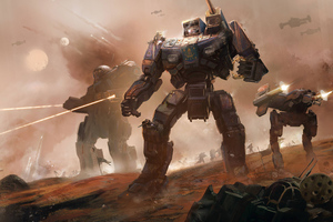 Battletech 2019 Wallpaper