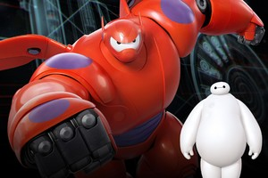 Baymax In Big Hero 6 Movie