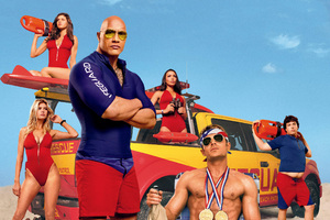 Baywatch 2017 Movie Wallpaper