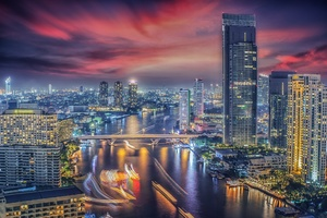 Beautiful Bangkok City Wallpaper