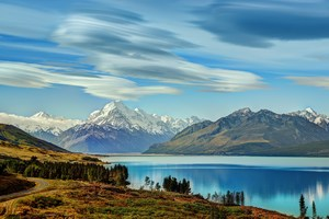 Beautiful Lake New Zealand 4k Wallpaper