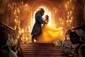 Beauty And The Beast 8k Wallpaper