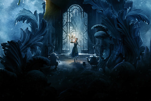 Beauty And The Beast Emma Watson 8k Wallpaper