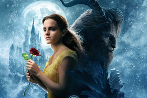 Beauty And The Beast Movie Wallpaper