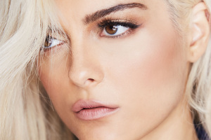 Bebe Rexha 4k 2018 Latest Wallpaper