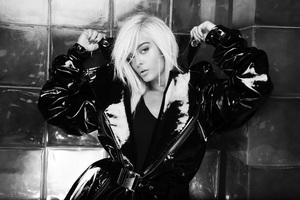 Bebe Rexha Monochrome 2019 Wallpaper