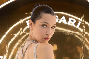 Bella Hadid at the Bulgari Event