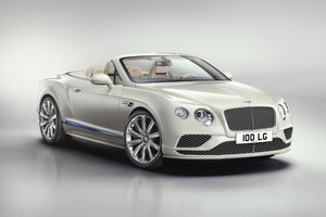 Bentley Continental GT V8 Convertible Galene Edition 2017