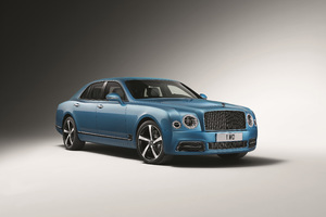 Bentley Mulsanne Speed Design