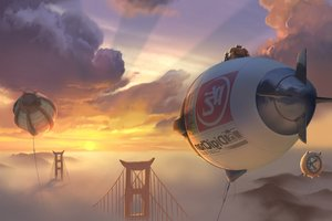 Big Hero 6 Art