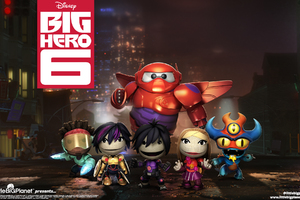 Big Hero 6 Game Wallpaper