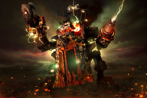Big Kustom Beauty Da Morkanaut Warhammer 40000 dawn of war III
