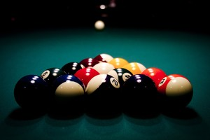 Billard Balls Wallpaper