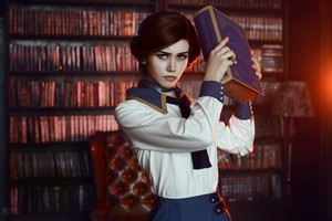 Bioshock Infinite Elizabeth Cosplay Wallpaper