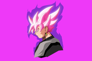Black Goku Dragon Ball Super 4k Anime