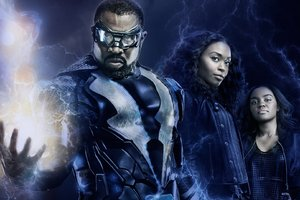 Black Lightning Cast 2018 Wallpaper