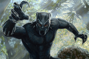 Black Panther 2018 Movie Artwork
