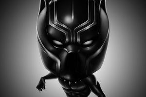Black Panther 4k Digital Art