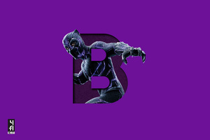 Black Panther 5k Art Wallpaper