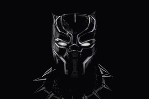 Black Panther Artwork 5k Wallpaper