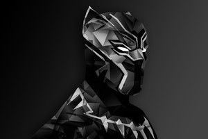 Black Panther Digital Art