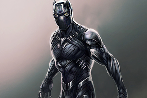 Black Panther Digital Artwork