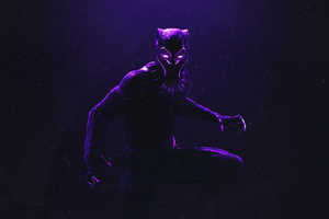 Black Panther Fan Made Art