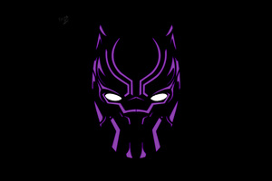 Black Panther Illustration 4k Artwork Wallpaper