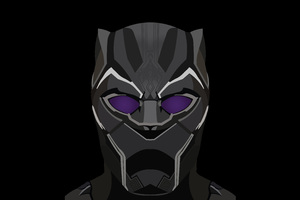 Black Panther Illustration 5k Wallpaper
