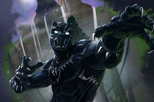 Black Panther Key Art